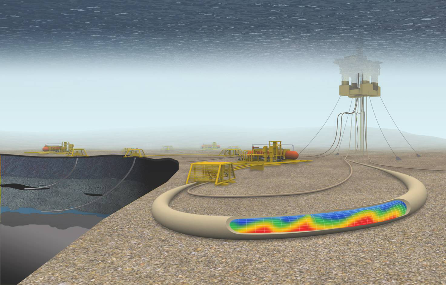 offshore structure subsea production system engineering essay The course also provides context by discussing the background and structure of the  process and store offshore production,  learn about subsea production.